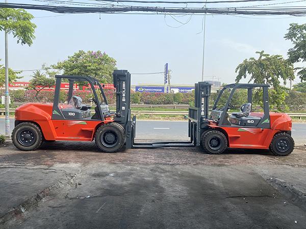 xe nâng hàng tại Tây Ninh